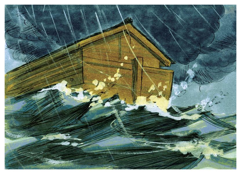 Bahtera Nuh.